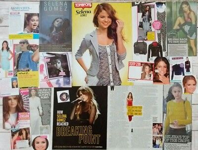 Selena Gomez poster, clippings + sticker *FANSET!*