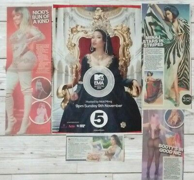 Nicki Minaj poster + clippings *FANSET!*