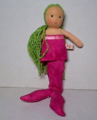 New Kathe Kruse Waldorf Doll  Mermaid in lilac 7 inches  NEW
