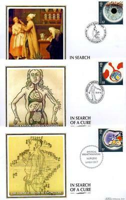 ALL 6 BENHAM BS1040-45 MEDICAL BREAKTHROUGHS FDC'S 16-9-10 each with SHS F16
