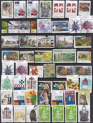 Australia  Postage Stamps No Gum, More Than 63 Dollars Face Value