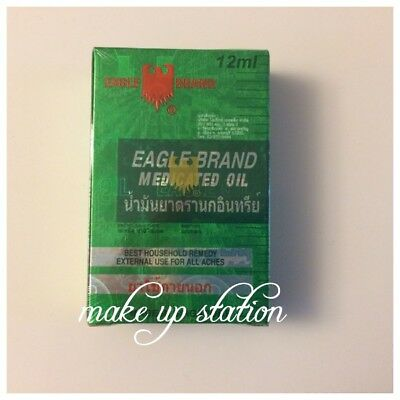 EAGLE BRAND MEDICATED OIL 12ml. (FONG YEOW CHENG)