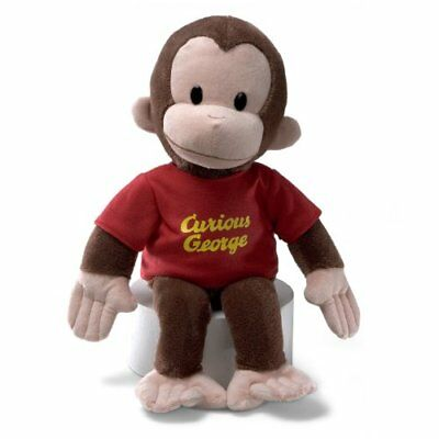 Gund Curious George Stuffed Animal, 16 inches
