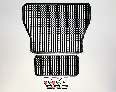 BMW S1000rr S1000r S1000xr Racing Radiator Guard Set all years HP4 2009-2017