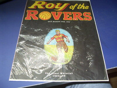 Roy Of The Rovers 20Th March 1993 (The Final Whistle)