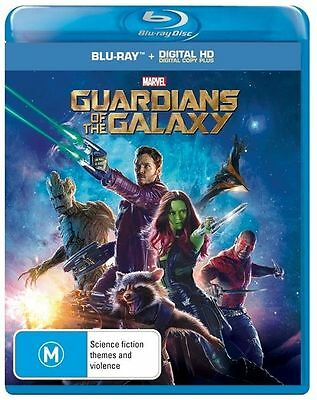 Guardians of the Galaxy (Blu-ray Disc, 2014) New / Sealed USA Free Shipping