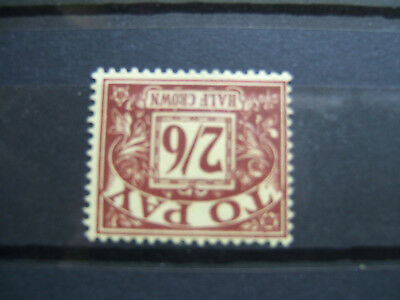 1959 QE II 2/6 Brown/Yell Postage Due. Watermark Multi Crowns Inverted.  MNH.