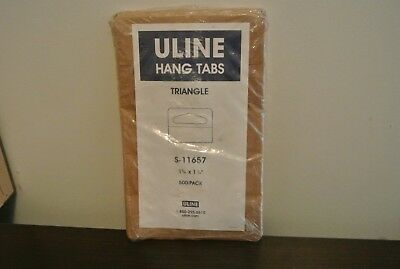 Uline Triangle Hang Tags S-11657 Pack of 500