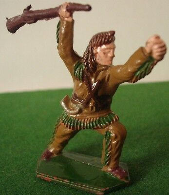 VINTAGE LONE STAR plastic figure of DAVY CROCKETT in very good condition