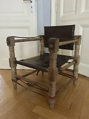 Safari Chair Sessel Vintage