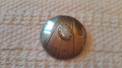Signed Sterling Silver Pendant