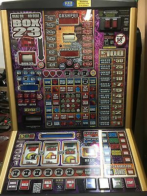 DEAL OR NO DEAL BOX 23 £100 jackpot NOTE RECYCLER FITTED