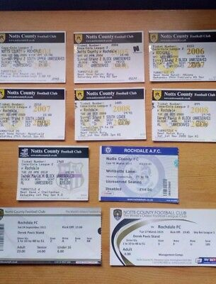 10 x Notts County v Rochdale FC Tickets . Most Excellent