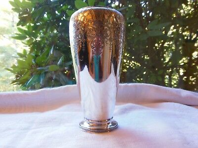 Antique Wilcox Silverplate Quadruple Plate Fancy Vase