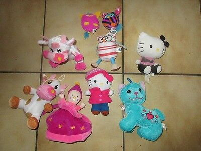 lot peluches