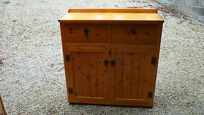 Hand Made Pine sideboard - Ideal for distressing / up-cycling