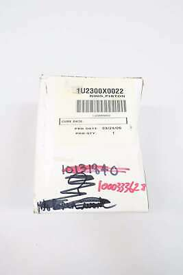 New Fisher 1U2300X0022 Piston Ring Graphite 2-1/2In D581361