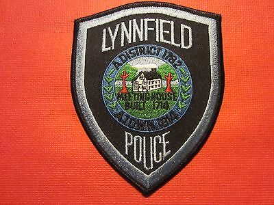 Collectible Massachusetts Police Patch,Lynnfield