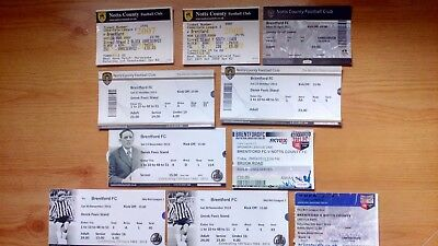 10 x Brentford FC v Notts County Tickets. Most Excellent