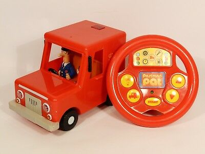 Postman Pat Drive & Steer Remote Controlled Van With Sounds Pat & Jess Figures