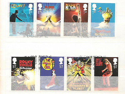 Vend Serie Timbres Obliteres Royaume Uni Annee 2011