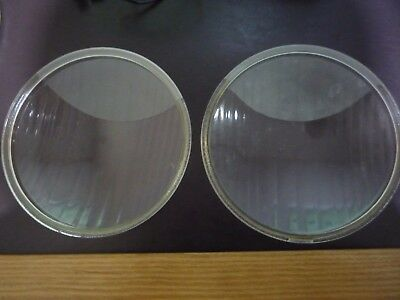 Vintage Butlers [pair of] 800-3  car headlight lenses