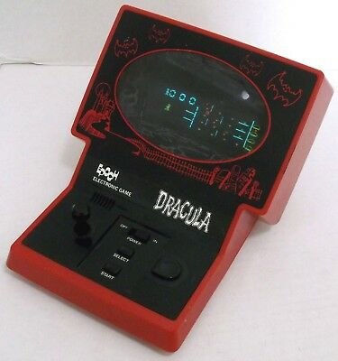 Epoch DRACULA 1983 TABLE TOP MONSTER VIDEO GAME battery op WORKS GREAT