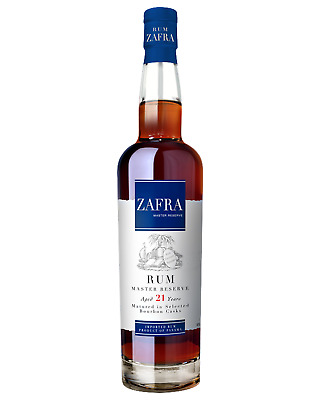 Zafra Master Reserve 21 Year Old Rum 700mL case of 6 Dark Rum