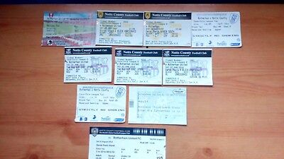 10 x Rotherham United v Notts County Tickets. Most Excellent