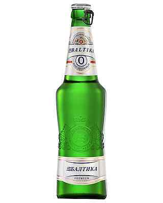 Baltika Non - Alcoholic Beer 470mL case of 20 Non Alcoholic Beer Lager