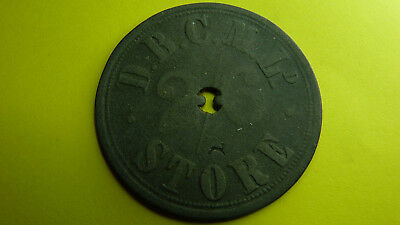 South Africa / Afrique / Afrika -Token/Jeton De Beers Cons.Mines 2/6 Scarce !!