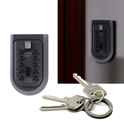 Digital Code Password Combination Security Lock Wall Mounted Keys Safe Lock Box