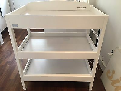 East Coast (White) Baby Changing Unit Table