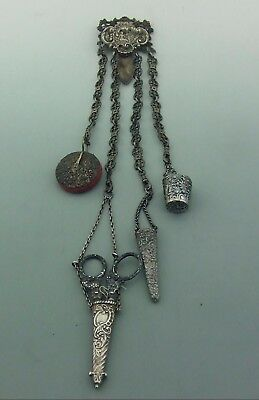 Antique Silver Chatelaine Restoration Project