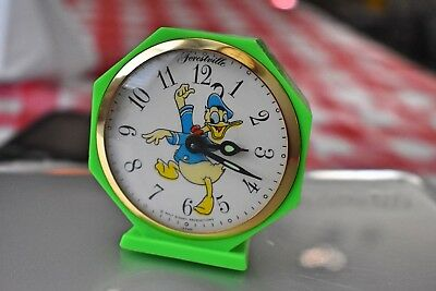 Forestville Donald Duck Alarm Clock