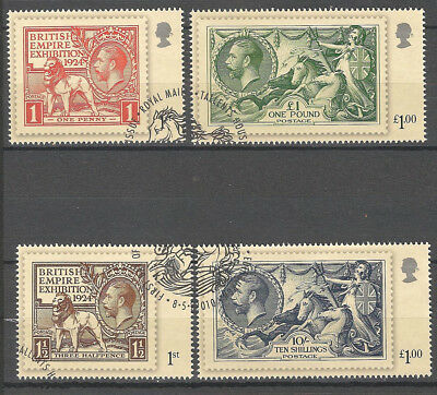 Vend Serie Timbres Obliteres Royaume Uni Annee 2010