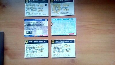 6 x Stockport County v Notts County Tickets. Most Excellent