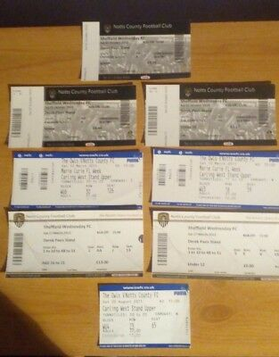 8 x Sheffield Wednesday v Notts County Tickets. Most Excellent