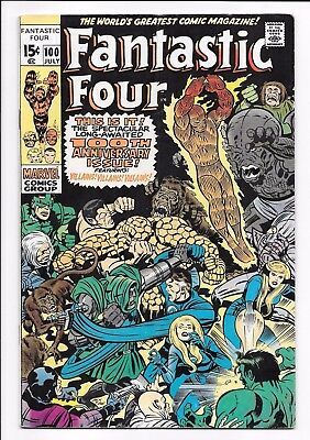 Marvel Comics FANTASTIC FOUR #100 first printing