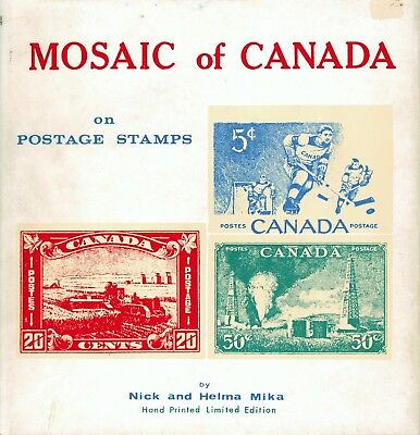 Philatelic Book: Mosaic of Canada on Postage Stamps
