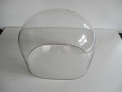 Vintage Glass Dome Oval Shape For Clock Or Taxidermy Display