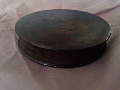 Georgian (WINDSOR CASTLE)oak snuff box