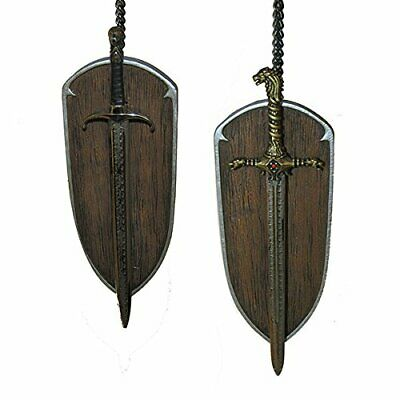 Kurt Adler 6-Inch Game of Thrones Christmas Ornament Set of 2