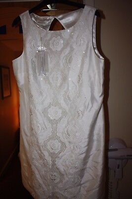 Brand New Monsoon Bridal Dress Size 14UK Ivory Pet and Smoke free