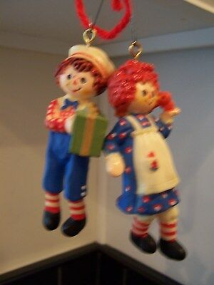 Ornament's, Raggedy Ann and Andy