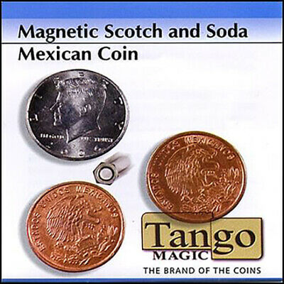 Scotch and Soda Magnetic Mexican Coin (D0052) - Tango