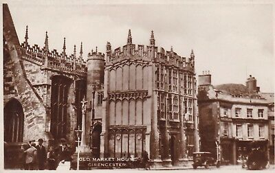 Postcard The Old Market House Cirencester RP