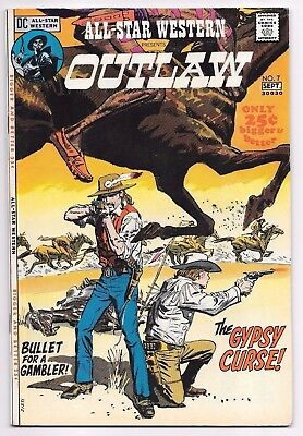 DC Comics ALL STAR WESTERN presents OUTLAW #7 first printing