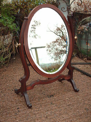 Edwardian  Mahogany Dressing Table/ Toilet Mirror