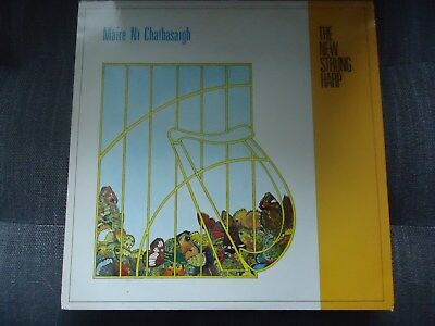 Maire Ni Chathasaigh Lp The New Strung Harp, Irish Traditional,